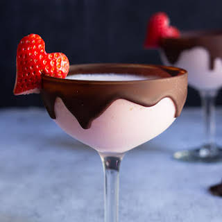 Chocolate Strawberry Martini.