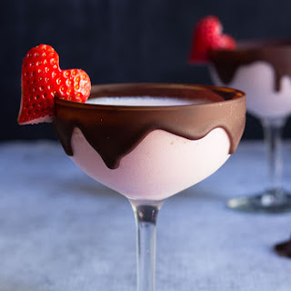 Chocolate Strawberry Martini.