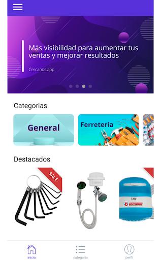 Cercanos App screenshot 4