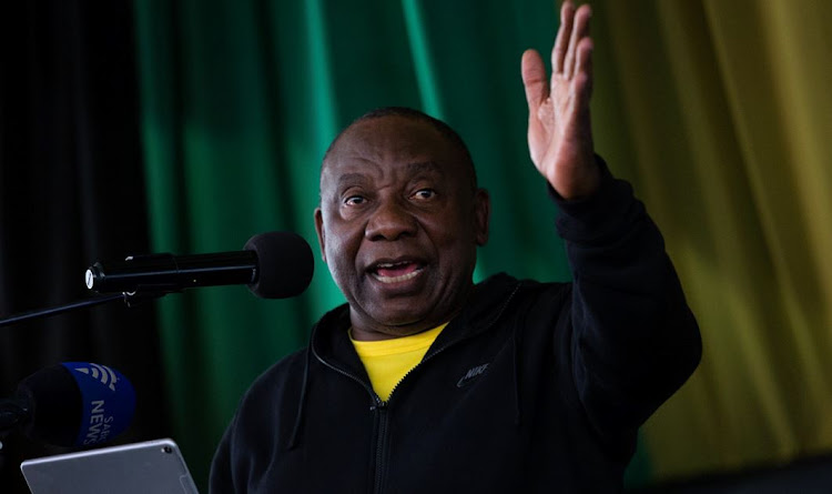 President Cyril Ramaphosa in KwaZulu-Natal for the launch of the ANC's Thuma Mina campaign.