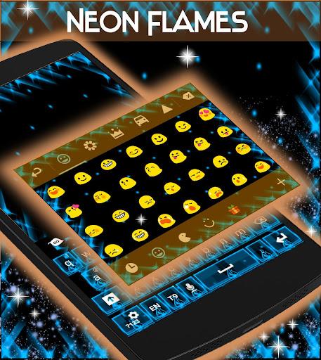 無料个人化Appのネオン炎キーボード|記事Game