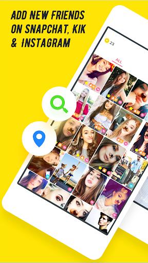 Flamingo-More Friends for Snapchat, Kik, Add Views  screenshots 1