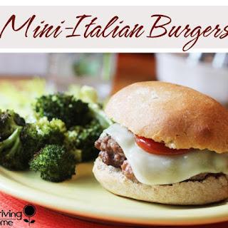 Mini Italian Burgers