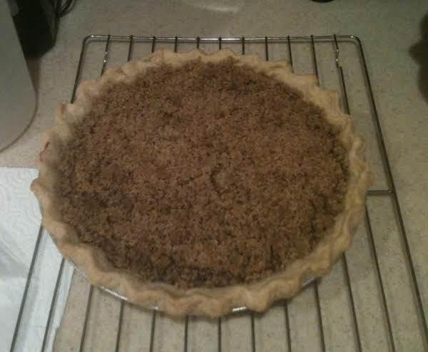 Blueberry Streusel Pie Recipe