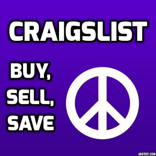 Craigslist - Buy, Sell, Save