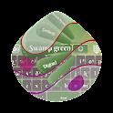 Swamp green GO Keyboard icon