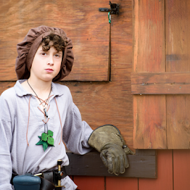 by Judy Rosanno - Babies & Children Child Portraits ( sherwood forest faire )