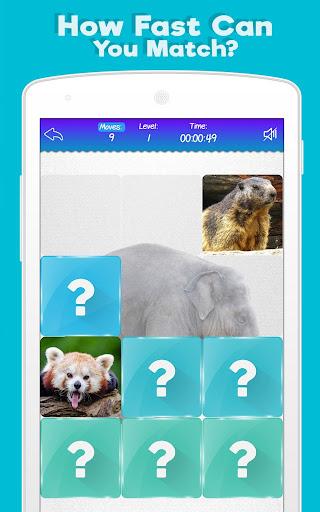 Memory Game: Animals modavailable screenshots 6