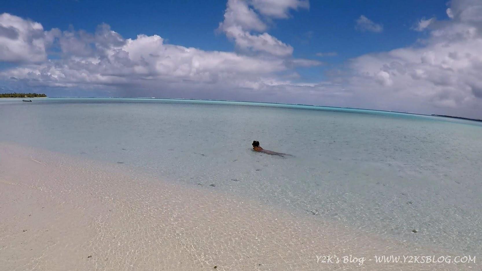 Spiaggiati sul Motu Tiapaa - Maupiti
