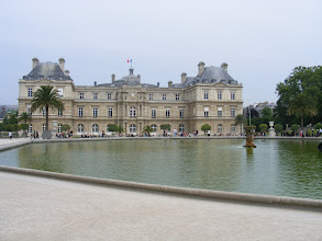 Photo: The Luxembourg Palace, built for Marie de Medicis, mother of king Louis XIII, was completed in 1631.