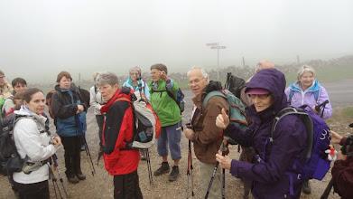Photo: Alors ne vous perdez pas dans le brouillard... il y en aura pendant 18 km!
