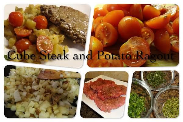 Cube Steak And Potato Ragout Recipe
