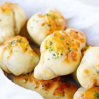 Cheddar Garlic Knots
