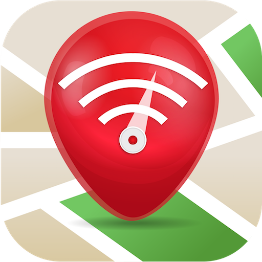 Free WiFi App: WiFi map, passwords, hotspots Icon