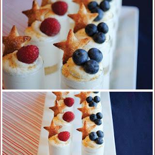 Patriotic Puff Pastry Stars