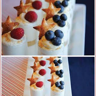 Patriotic Puff Pastry Stars.