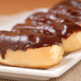 Homemade Chocolate Eclairs