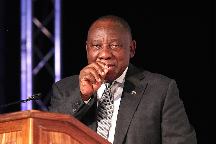 President Cyril Ramaphosa addresses the Jobs Summit. Picture: THAPELO MOREBUDI