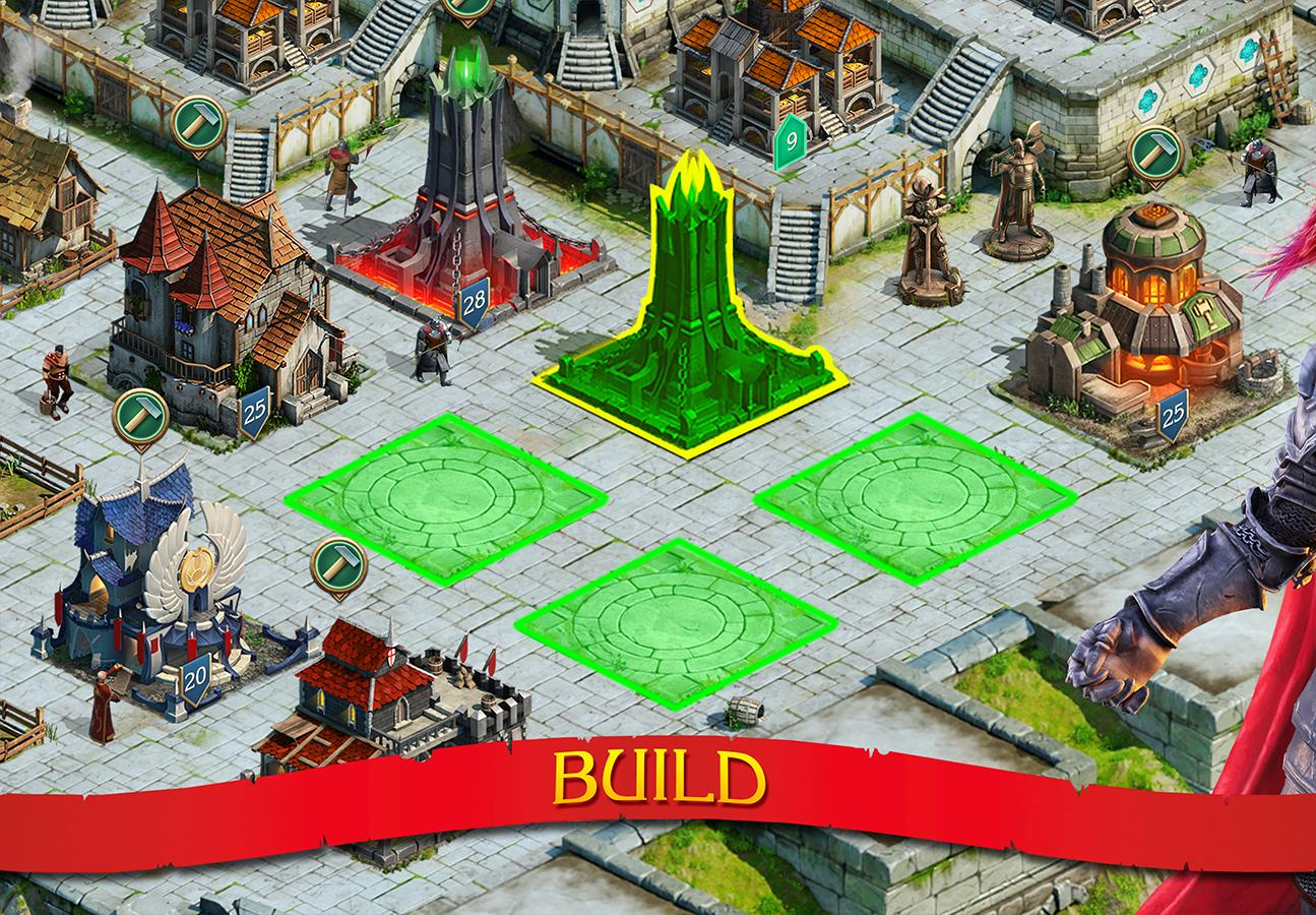 Screenshots of Stormfall: Rise of Balur for iPhone