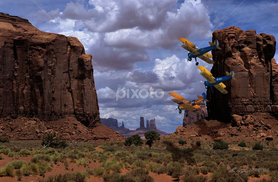 Pylon Racing by Brent Bristol Sr. - Digital Art Places