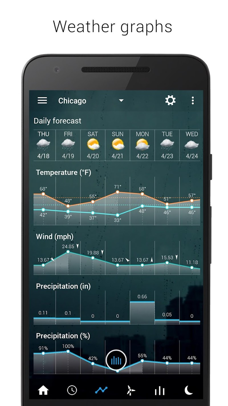 Sense Flip Clock & Weather (Ad-free) Screenshot 7