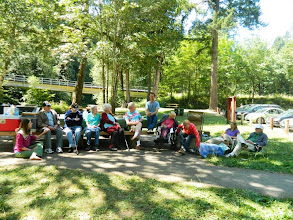 Photo: hagg lake picnic
