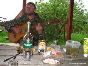 Photo: Alex shows us his guitar skills