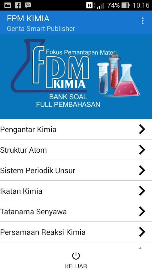 Fpm Kimia Android Apps On Google Play