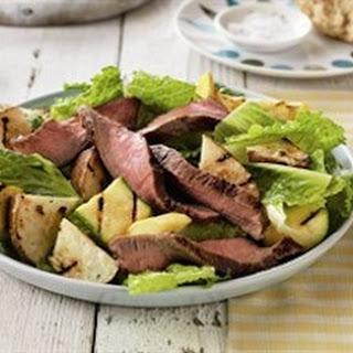 Sizzling Steak and Potato Salad.