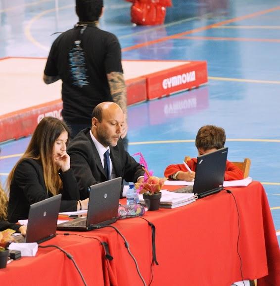 De juez en el Campeonato de Andalucía en Jerez.