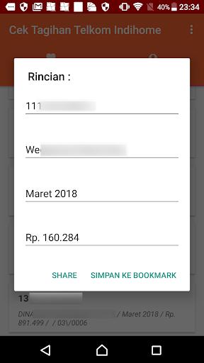 Cek Tagihan Telkom Indihome for PC