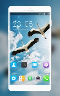 Theme for Motorola EX109 Sky Wallpaper - náhled