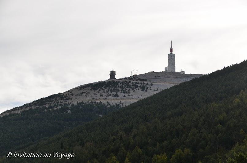 Mont Serein, vue sur Mt Ventoux