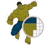 Yes.Pixel Art Superheroes by Number 1.2