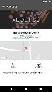 HopeCommunity.Tv- screenshot thumbnail