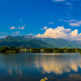 Love Nature by Gowri Shankar - Landscapes Mountains & Hills ( clouds, water, hills, nature, trees )