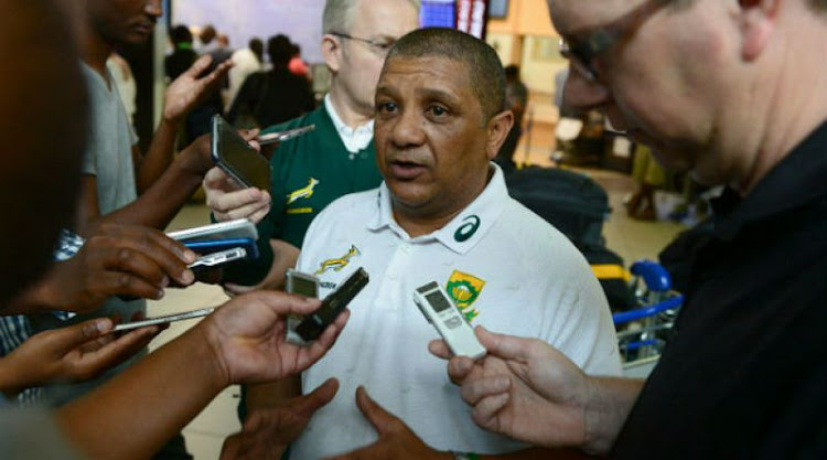 Former Springbok coach Allister Coetzee. File picture
