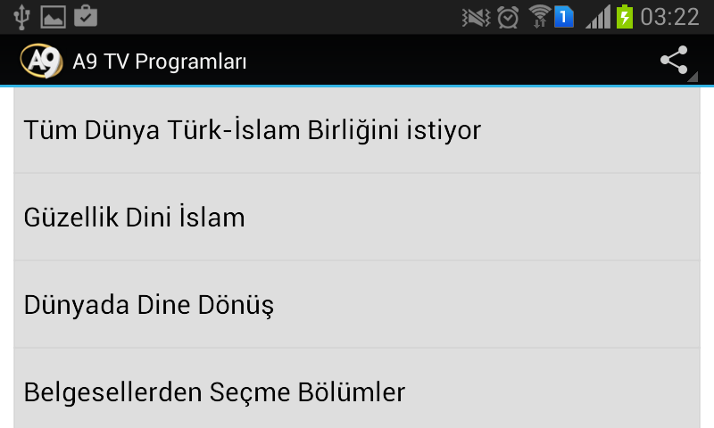 A9 TV Programları- screenshot