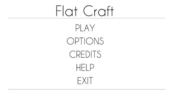 FlatCraft - náhled