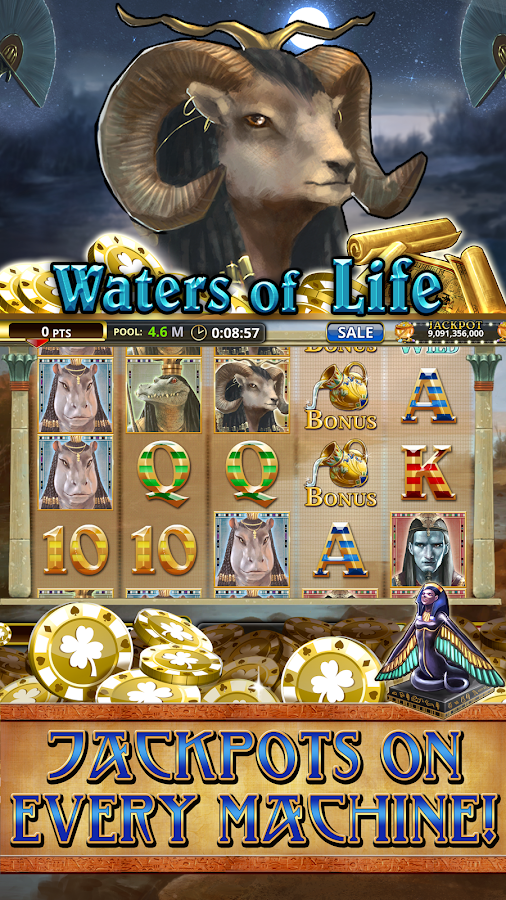 Pharaoh's Treasure Deluxe Slots - Read the Review Now