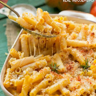 Lighter Cheesy Pasta Bake Recipe