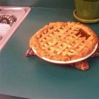 Zucchini Apple Pie