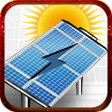 Solar battery charge Prank icon