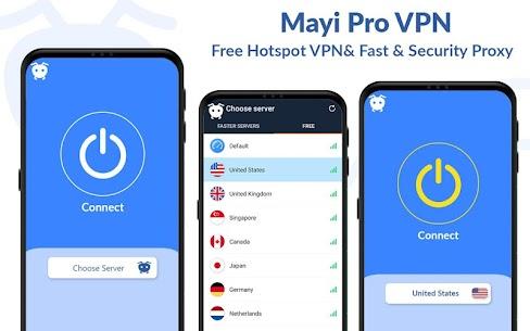 Mayi Pro VPN – Ads Free Vpn – Safe & Secure Vpn 1