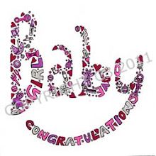 Photo: Congratulations - Baby Girl