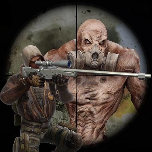 Zombie Sniper Shooter Off road Zombie Dog hunt