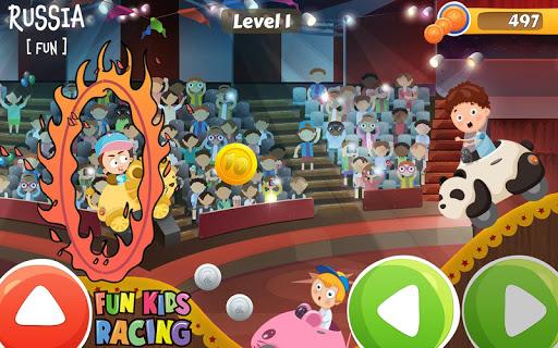 Amusant Jeu de course pour enfant  captures d'écran 2