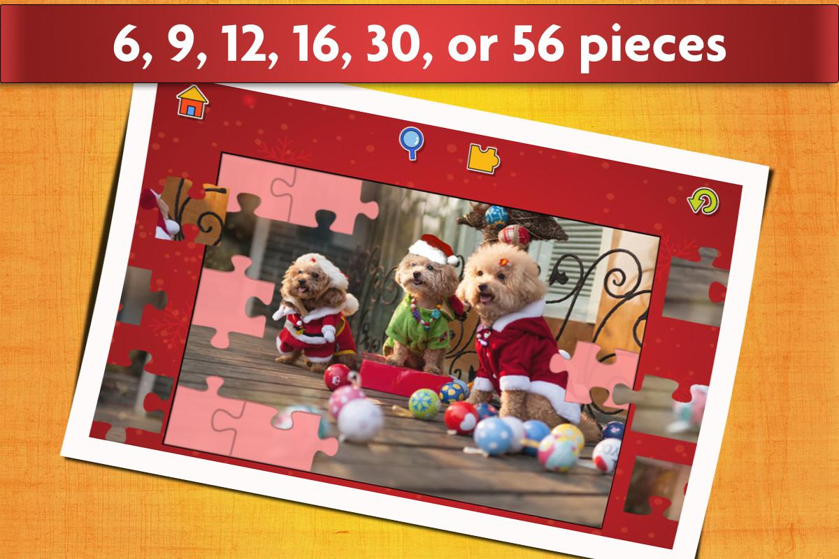 Kids Christmas Jigsaw Puzzles- screenshot