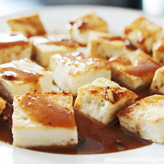 Clean Eating Recipe – Tofu with Ginger-Garlic Sauce