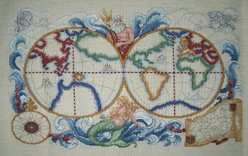 Photo: Completed 31 May 2007. This was a UFO for a few years. I unearthed it and completed all of the stitching in about four months in rotation with other projects. Boy does it feel good to be done!